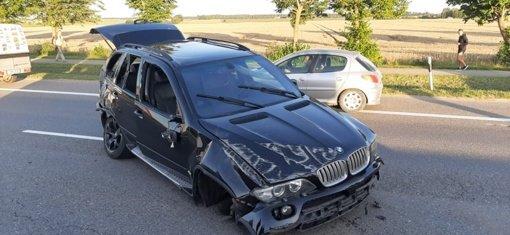 Netoli Aukštelkės įvyko avarija