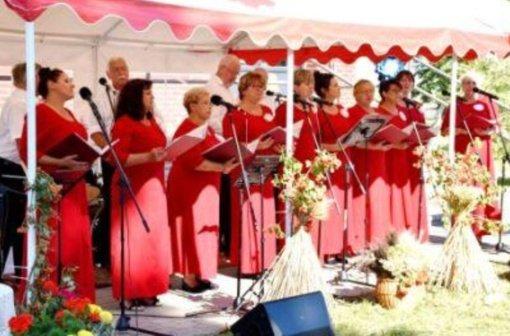 """Vyko XVI Širvintų krašto lenkų kultūros festivalis """"Dainuok su mumis"""""""