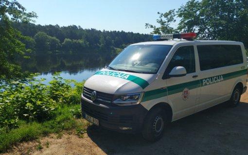 Kauno paplūdimiuose vykdomos prevencinės priemonės: įspėta beveik 100 asmenų