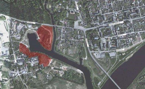 Bus tvarkoma Mituvos upės slėnio teritorija Jurbarko mieste