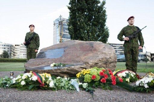 Bus pagerbtas žuvęs karys savanoris, LR Atkuriamojo Seimo gynėjas A. Sakalauskas