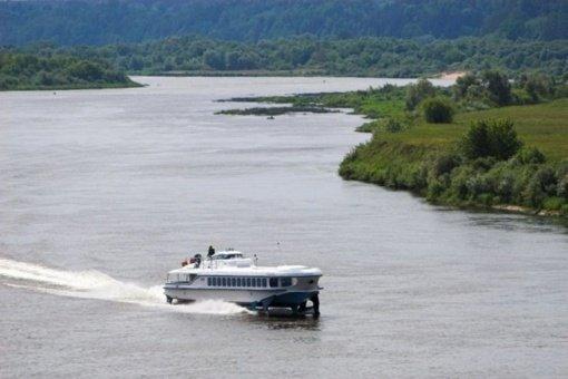 Mobilias prieplaukas numatoma įrengti pramoginei laivybai patraukliose vietose