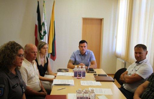 Įvyko Pagėgių savivaldybės ekstremalių situacijų operacijų centro posėdis