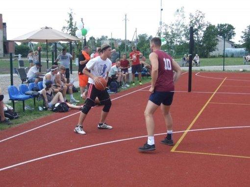 Alytaus rajone įrengtas dar vienas naujas sporto aikštynas