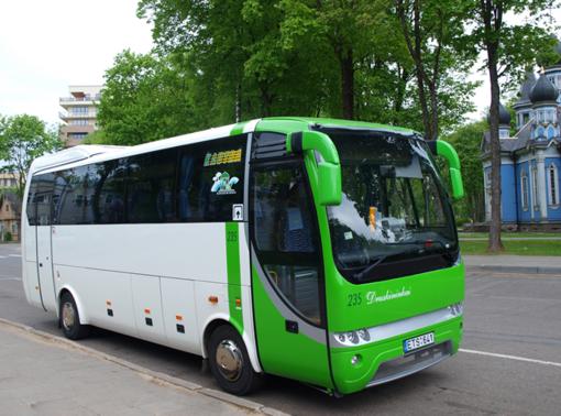 Nuo rugpjūčio 17-osios viešasis transportas Druskininkuose važiuos pagal įprastinius tvarkaraščius