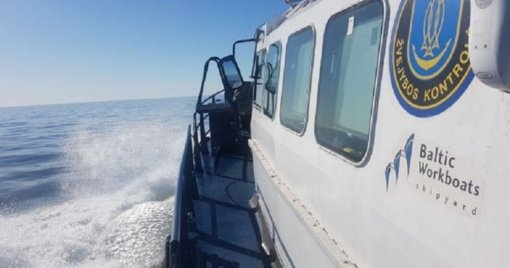 Žvejyba Baltijos jūroje ir žuvų iškrovimas kontroliuojami visą parą