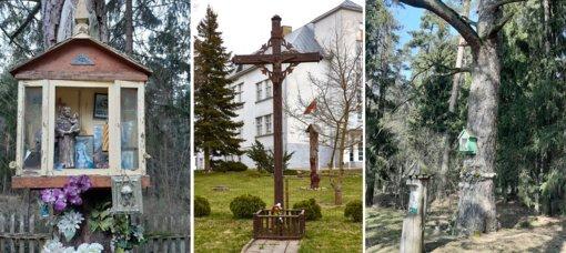 Kryžiai Šaukėnuose –  apsauga nuo ligų, vaidenimosi, gamtos reiškinių