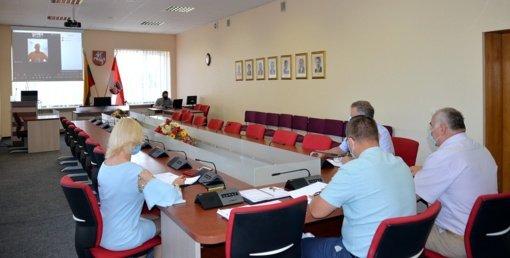Aptarti savivaldybės valdomų uždarųjų akcinių bendrovių pirmojo pusmečio rodikliai