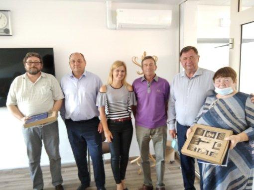 Kazokiškių, Pilypiškių ir Alesninkų bendruomenėms įteiktos padėkos