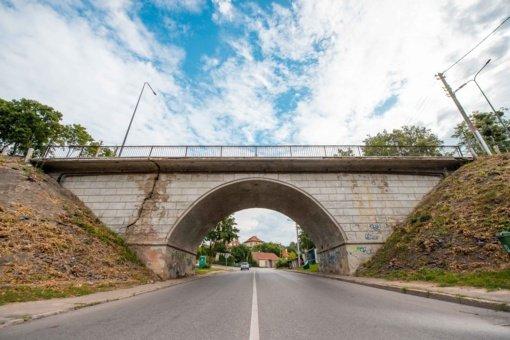 Ateinančiais metais remontininkų sulauks ir viadukai netoli Kauno geležinkelio stoties