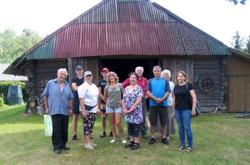 Pažintinis žygis į Naujienų kaimo muziejų