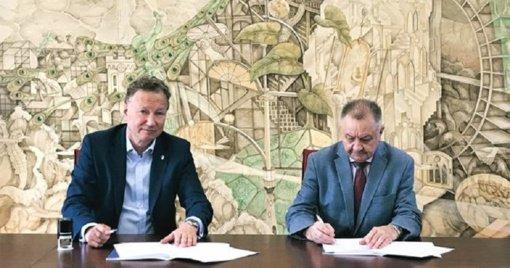 Stiprėja partnerystė tarp KU ir Klaipėdos universitetinės ligoninės