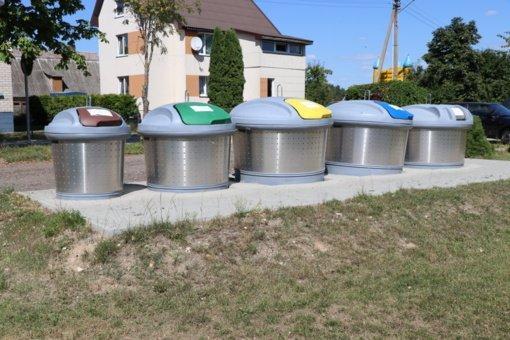 Lazdijuose bus tvarkoma antžeminė konteinerinė aikštelė