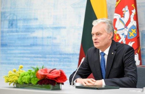 Gitanas Nausėda su Europos Vadovų Tarybos pirmininku aptars pasirengimą ES susitikimui
