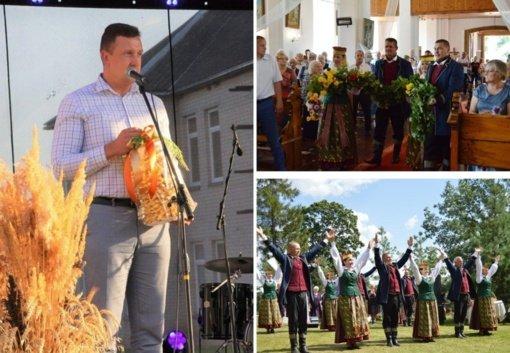 Žolinės šventė paminėta svarbiomis sukaktimis ir gražiais renginiais