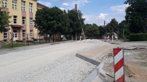 Veisiejų seniūnijos gyventojai netrukus džiaugsis atnaujintomis gatvėmis
