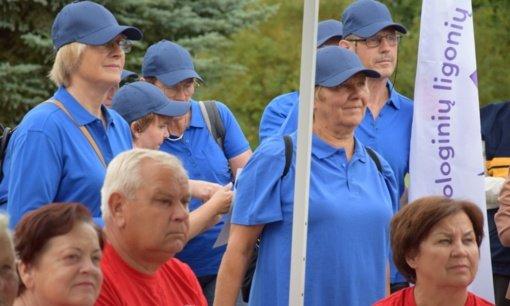 Subūrė kasmetinė neįgaliųjų organizacijas vienijanti sporto šventė