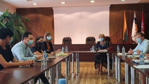 Jaunimo reikalų departamento atstovų vizitas Birštono savivaldybėje