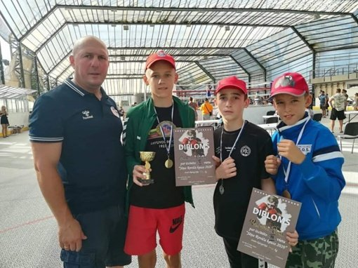 Jaunųjų boksininkų pasiekimai Jūrmalos turnyre