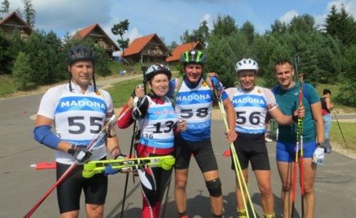 Sėkmingas Vilniaus rajono biatlonininkų startas Latvijos biatlono čempionate Madonoje