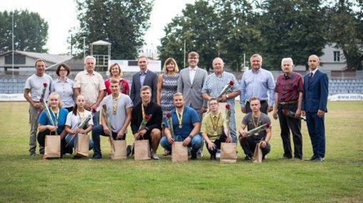 A. Visockis: Marijampolės sporto centras turi kuo didžiuotis