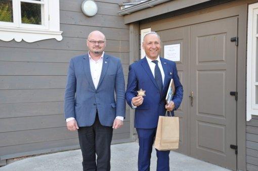 Pakruojyje apsilankė Izraelio ambasadorius Lietuvoje Yossefas Levy