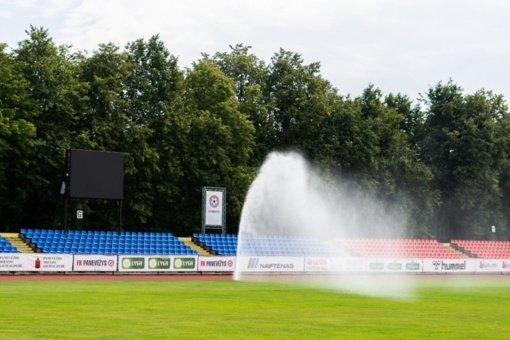 """Baigiamas rekonstruoti """"Aukštaitijos"""" stadionas: visai netrukus sportininkai galės džiaugtis atnaujinta infrastruktūra"""