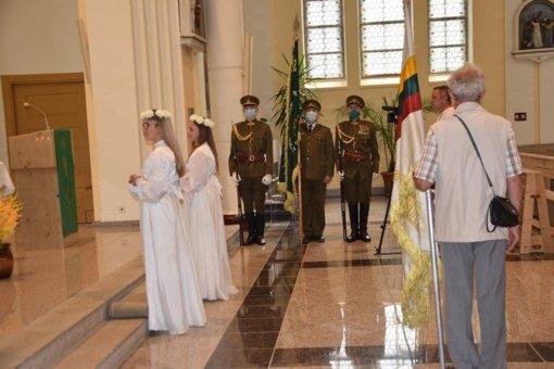 Mažeikiuose įvyko Baltijos kelio dienos 31 metų paminėjimas