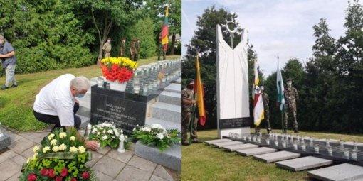 Papilyje buvo pašventintas atnaujintas memorialas Papilio krašto partizanams ir tremtiniams