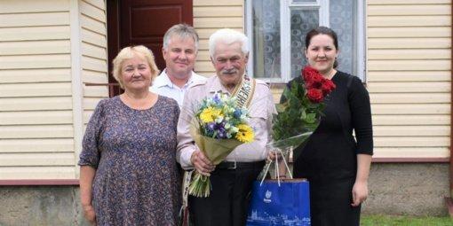 Vytautas Maslinskas praėjusią savaitę šventė 90 metų jubiliejų