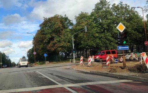 Vytauto gatvėje bus ribojamas eismas