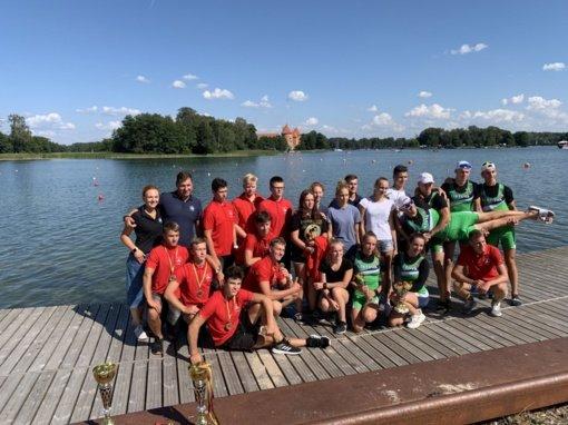 Panevėžio jauniai irkluotojai – stipriausi Lietuvoje