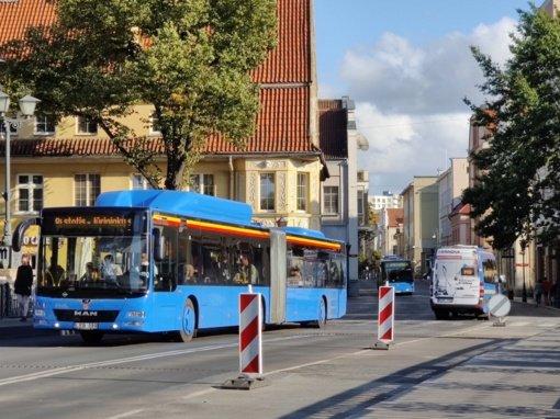 Viešojo transporto tvarkaraščių pokyčiai nuo rugsėjo 1 dienos