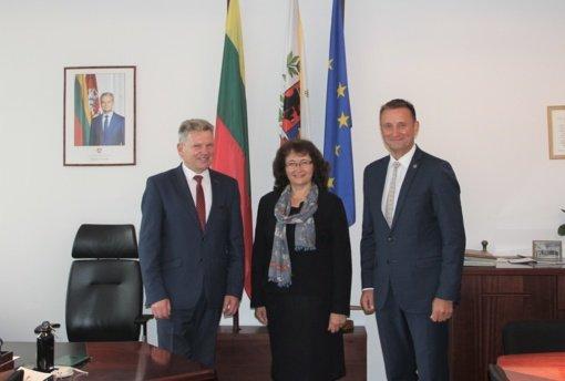 Šiauliuose viešėjo Susisiekimo ministras: šie metai Šiauliams – rekordiniai