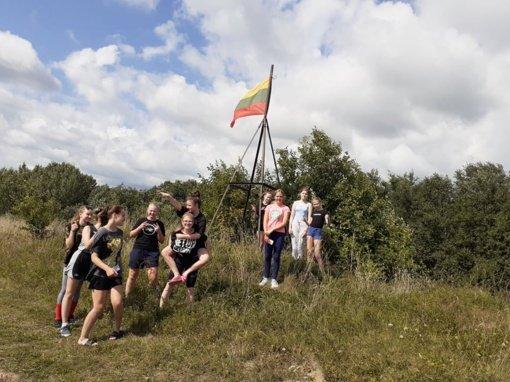 Anykščių krepšininkės dalyvavo stovykloje Ignalinos rajone