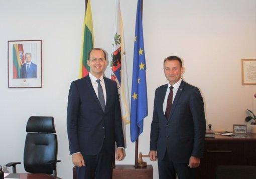 Ekonomikos ir inovacijų viceministras įvertino pokyčius Šiauliuose