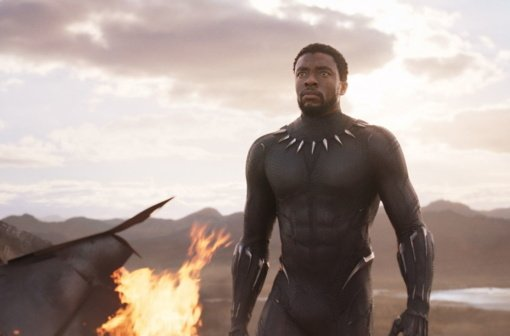 """Mirė filmo """"Juodoji pantera"""" žvaigždė Ch. Bosemanas"""