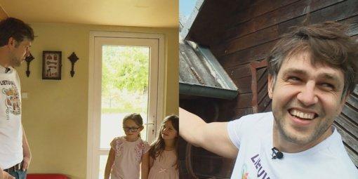 """Lietuvai """"Eurovizijoje"""" atstovavęs Andrius Pojavis grįžo į Lietuvą: kaip čia prigis italė žmona ir dukros?"""