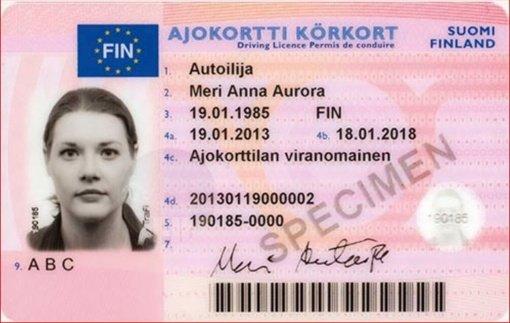 Pasvalio rajone iš Latvijos atvykęs vairuotojas turėjo, įtariama, suklastotą suomišką dokumentą