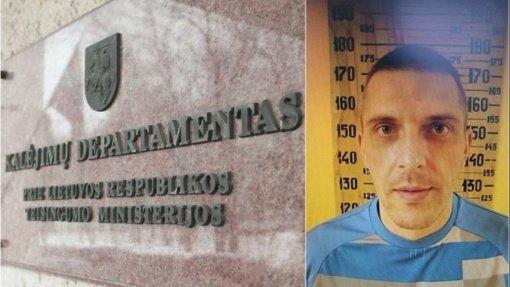 Policija sulaikė iš Pravieniškių pabėgusį nuteistąjį