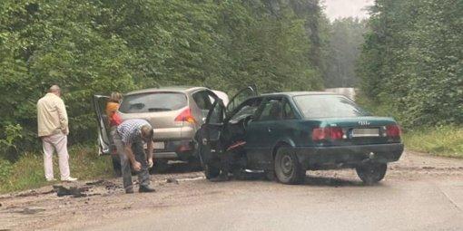 Alytaus rajone avarijoje nukentėjo žmonės