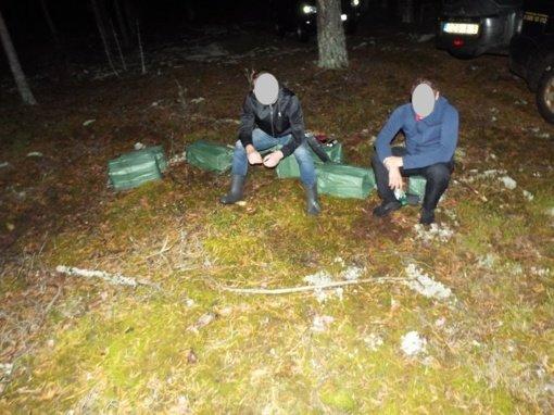 Belgų aviganis Itas padėjo sulaikyti du kontrabandininkus iš Druskininkų