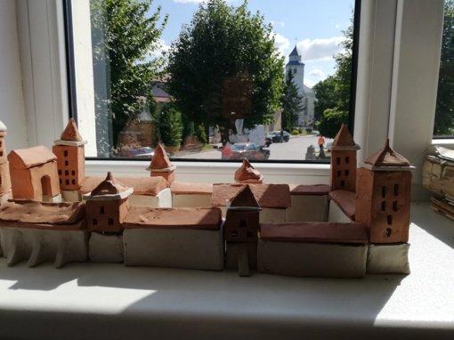 Moksleivių sukurtuose maketuose – senoji Veliuona
