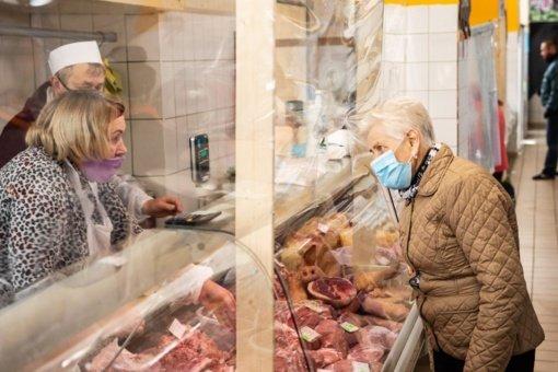 Panevėžio apskrityje turgaviečių prekiautojams jau paskirta beveik 128 tūkst. eurų kompensacijų
