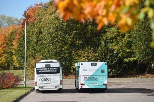 Po miesto gimtadienio renginių namo veš specialūs autobusai
