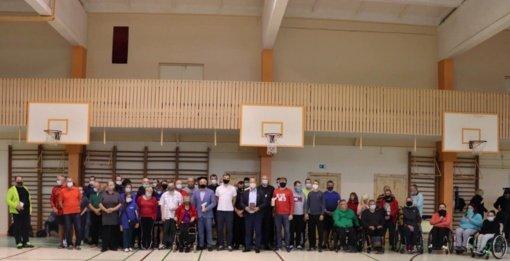 """""""Siekis"""" kuria infrastruktūrą neįgaliųjų sportui"""