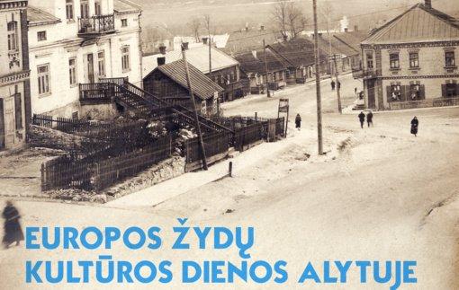 2020 metų Europos žydų kultūros dienos Alytuje