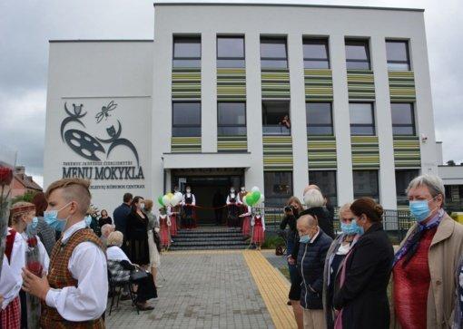 Jaunieji Varėnos kūrėjai bus ugdomi moderniai atnaujintose erdvėse