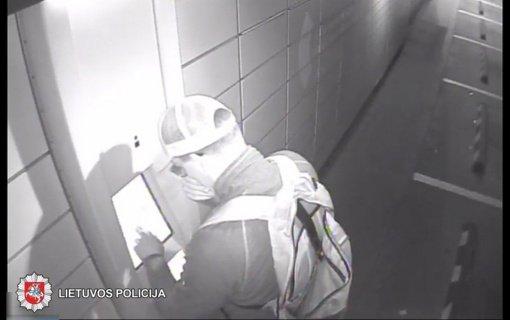 Policija ieško vaikino, kuriam parūpo svetimos prekės Panevėžio