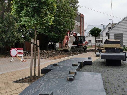 Pradėtas Jurbarko miesto kranto gatvės rekonstravimas